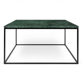 mesa Gleam 75 verde base negra
