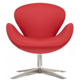 sillon swan red