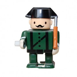 andador guardia civil bigote