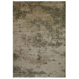 alfombra vintage Antik Medallion grey