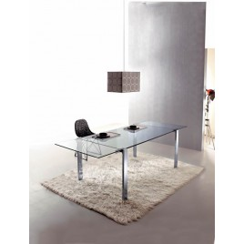 mesa cristal desplegable Livingstone