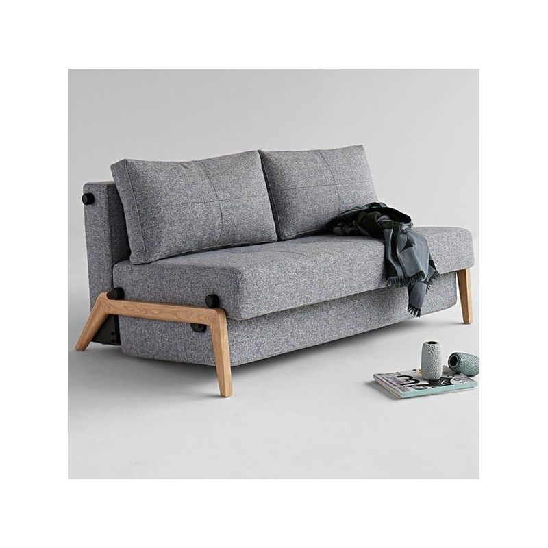 Sof cama cubed wood tiendas on for Sofa cama pequeno conforama