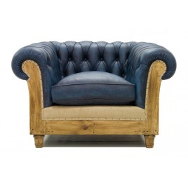 butaca Chesterfield Essence azul