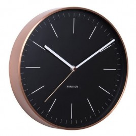 reloj de pared Minimal copper