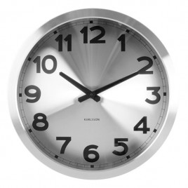 reloj de pared Silver Station