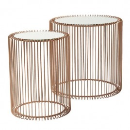 set mesas Wire copper