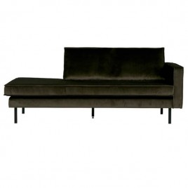 chaise longue derecha verde oscuro Rodeo