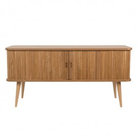 mueble tv madera natural Hollola