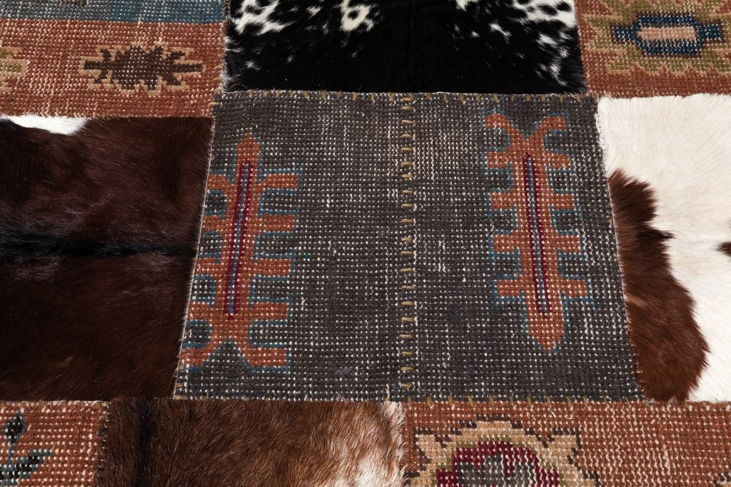 Alfombra patchwork vintage square mix on contract - Alfombras patchwork vintage ...