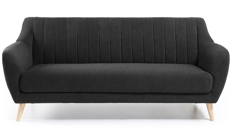 La elecci n perfecta un sof gris on contract for Sofa gris oscuro