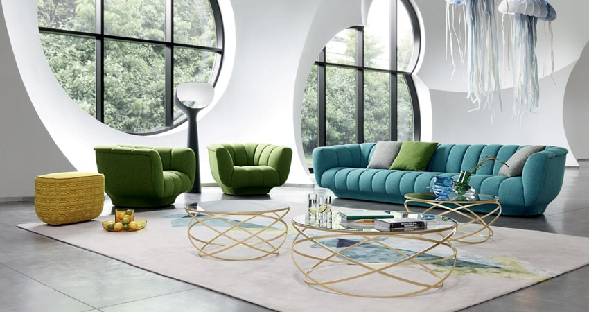 roche bobois sof s atemporales on contract