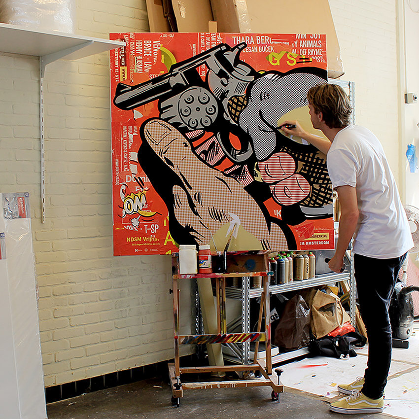 pintor-pop-art-michiel-folkers