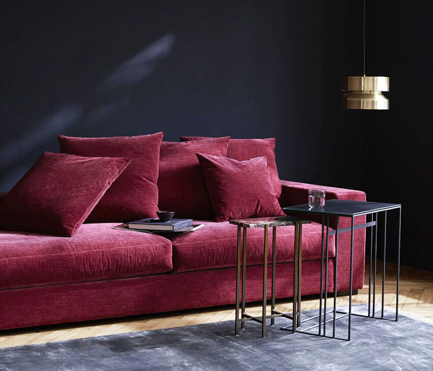 sofa black friday casanova terciopelo boconcept