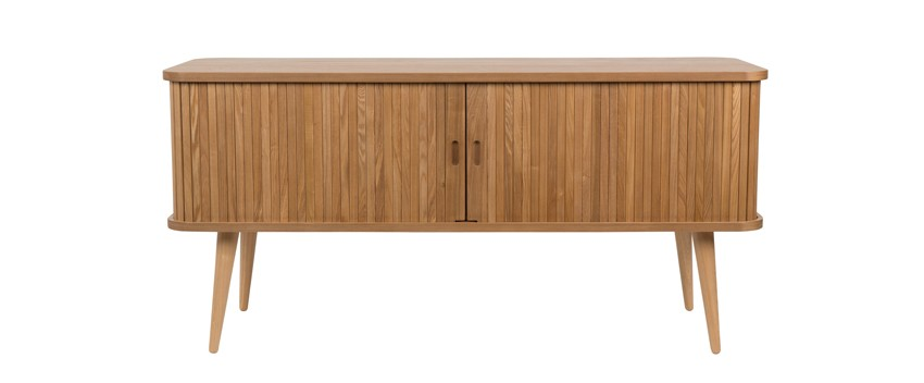 Mueble tv madera natural Barbier