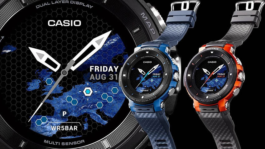 Pro Trek Smart de Casio, el smartwach definitivo